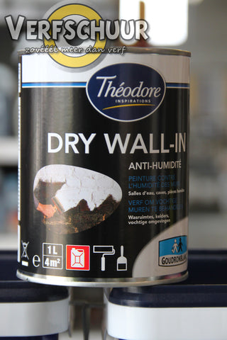 Goudron Blanc Théodore Dry Wall-In 1L