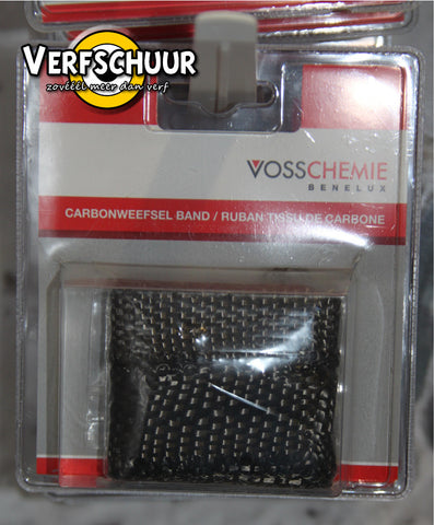 VCB set carbon tapes 2 st. / carbonweefsel band