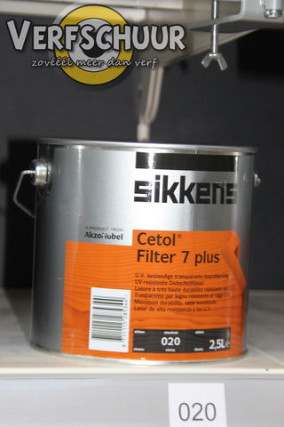 CETOL FILTER 7 PLUS - EBBEN 2.5L 020