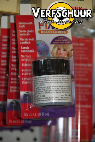 Fimo glanslak 35 ml op waterbasis - blister 8704 01 BK