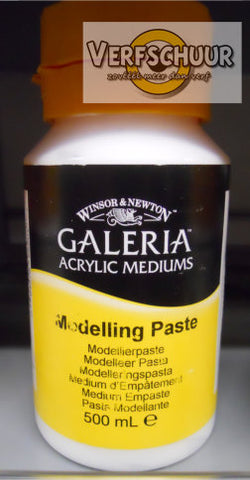 W&N. GALERIA ACRYLIC Modelling PASTE 500 ML.