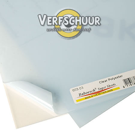 A4 transparant polyester 603-01