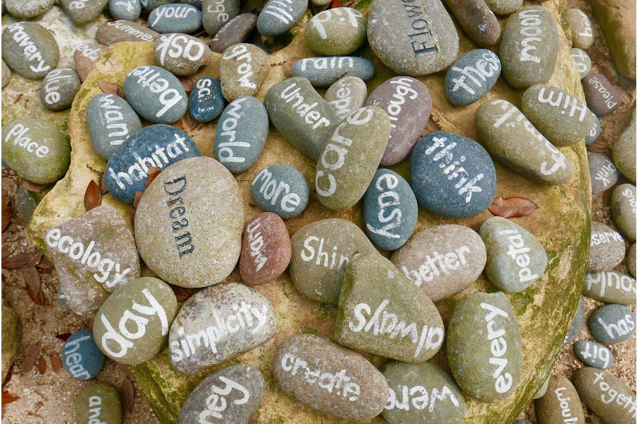 memorial stone messages