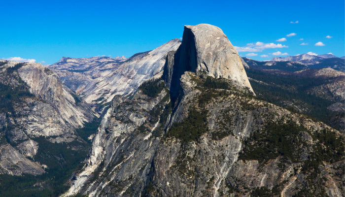 half dome ashes scattering