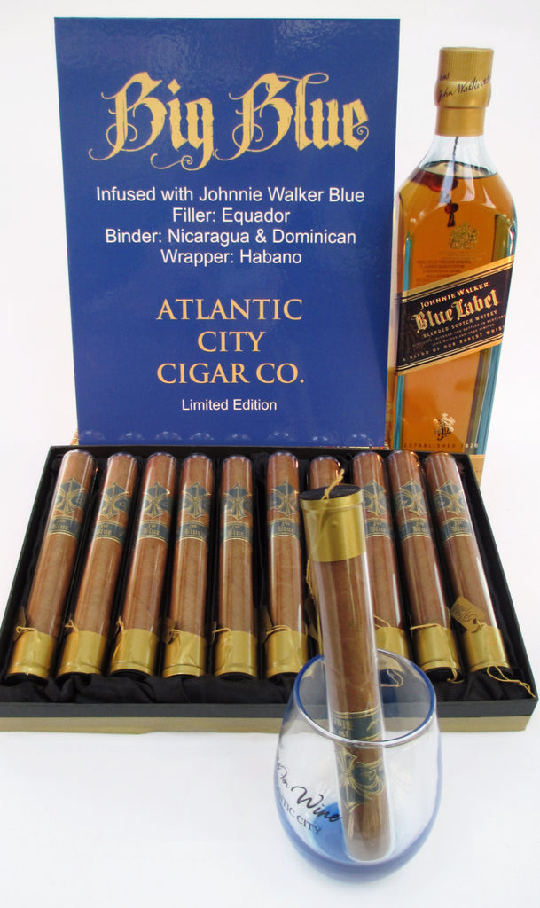 Atlantic City Cigar Co. Johnnie Walker Infused Cigar