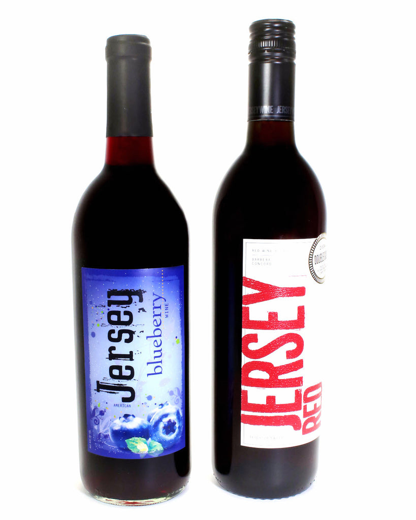 Jersey Blueberry and Jersey Red