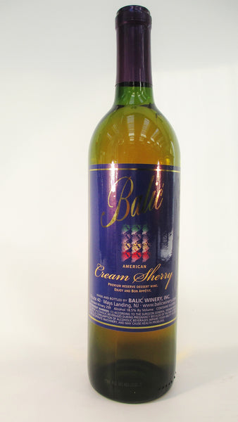 Balic Cream Sherry