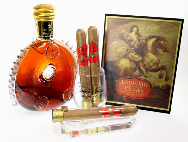 Atlantic City Cigar Company Louis XIII infused Cigar