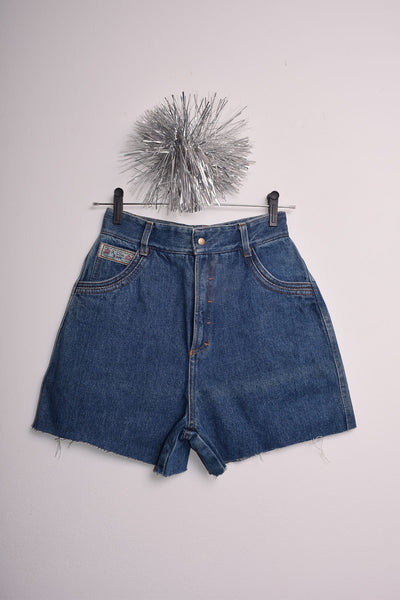 Shortinho jeans patch