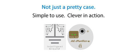 ifi AC iPurifier - cleans up noisy power to audio systems