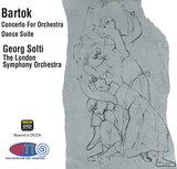 Béla Bartók Concerto For Orchestra - Dance Suite - Georg Solti London Symphony Orchestra (Pure DSD)