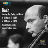 Bach - Sonatas For Cello And Piano No. 1027 & 1028 - Janos Starker, Gyorgy Sebok (PureDSD)