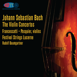JS Bach The Violin Concertos - Francescatti and Pasquier, violin • Festival Strings Lucerne Baumgartner