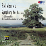 Balakirev Symphony no. 1 in C Major - Kiril Kondrashin - Moscow Philharmonic Orchestra (Pure DSD)
