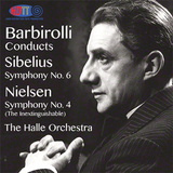 Barbirolli conducts Sibelius Symphony No. 6 & Nielsen Symphony No. 4 - Halle Orchestra