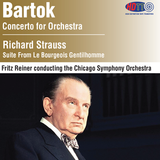 Bartók Concerto For Orchestra - R Strauss Le Bourgeois Gentilhomme - Fritz Reiner Chicago Symphony Orchestra