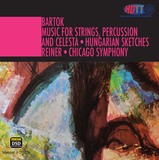 Bartók Music For Strings, Percussion And Celesta & Hungarian Sketches - Fritz Reiner Chicago Symphony (Pure DSD)