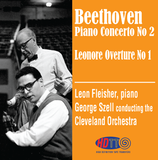 Beethoven Piano Concerto No 2 - Leonore Overture No 1 - Fleisher piano -  Szell Cleveland Orchestra