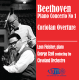 Beethoven Piano Concerto No 1 - Coriolan Overture - Fleisher piano -  Szell Cleveland Orchestra