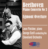 Beethoven Piano Concerto No 3 - Egmont Overture - Fleisher piano -  Szell Cleveland Orchestra