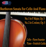 Beethoven Sonata For Cello And Piano in F Major, Op. 5 No. 1 & No. 2 in G minor, Op. 5 - Fournier,cello - Gulda, piano - Fournier,cello