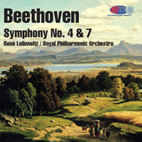 Beethoven Symphony No. 4 & 7 - René Leibowitz - The Royal Philharmonic Orchestra