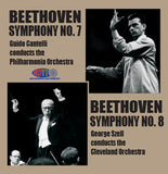 Beethoven: Symphony No. 7 and Symphony No. 8 - Guido Cantelli Conducts the Philharmonia Orchestra & George Szell Conducts the Cleveland Orchestra