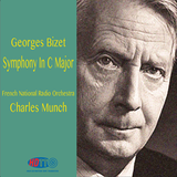 Bizet Symphony In C Major - Charles Munch - French National Radio Orchestra