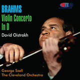 Brahms Violin Concerto In D, David Oistrakh - George Szell, The Cleveland Orchestra (Corrected Speed Version)