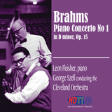 Brahms Piano Concerto No. 1 in D minor, Op. 15 - Fleisher piano -  Szell conducts the Cleveland Orchestra