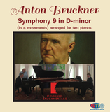 Bruckner Symphony 9 in 4 movements arranged for two pianos - 4.0 Surround Blu-ray Audio