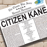 Music from Citizen Kane composed by Bernard Herrmann - Charles Gerhardt Conducts the National Philharmonic Orchestra - Available in 4.0 Surround Blu-ray Audio