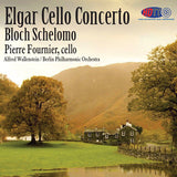 Elgar: Cello Concerto & Bloch: Schelomo -Pierre Fournier, Cello - Alfred Wallenstein Conducts the Berlin Philharmonic Orchestra