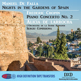 Falla Nights In The Gardens Of Spain - Chopin Piano Concerto No.2 - Alicia de Larrocha and L'Orchestre de la Suisse Romande and Sergiu Comissiona