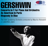 Gershwin Music conducted by Maurice Abravenel - The Utah Symphony Orchestra - Jerome Lowenthal piano