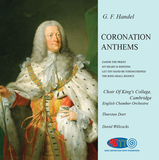 Handel Coronation Anthems - Directed by David Willcocks - The Choir Of King's College, Cambridge