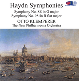 Haydn Symphonies No. 88 and 98 - Otto Klemperer and the New Philharmonia Orchestra