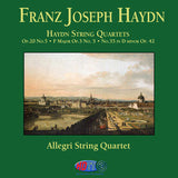 Franz Joseph Haydn: Haydn String Quartets - Op. 20 No. 5, F Major Op. 3 No. 5, No. 35 in D Minor Op. 42