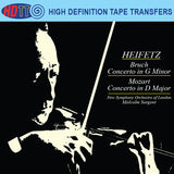 Bruch Violin Concerto No.1, Op.26 - Mozart Violin Concerto No.4 in D major, K.218 Heifetz, violin - Sargent conductor