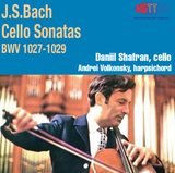 JS Bach Sonatas for Cello and Harpsichord BWV 1027-1029 - Daniil Shafran, cello