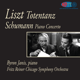 Liszt Totentanz and Schumann Piano Concerto - Byron Janis, piano   Fritz Reiner Chicago Symphony Orchestra