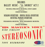 Delibes Ballet Music - Famous Overtures - Charles Mackerras
