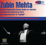 Zubin Mehta conducts Copland, Gershwin and Bernstein - Los Angeles Philharmonic Orchestra (Pure DSD)