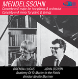 Mendelssohn Concerto Two Pianos - Concerto In A Minor Academy Of St-Martin-in-the-Fields - Marriner