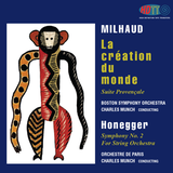 Charles Munch conducts Milhaud and Honegger