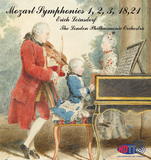 Mozart Symphonies No. 1-3 and 18 & 21 - The London Philharmonic Orchestra Conducted By Erich Leinsdorf