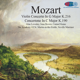 Mozart Violin Concerto In G Major K.216 - Concertone In C Major K.190 ASMF - Neville Marriner