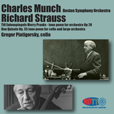 Richard Strauss music conducted by Charles Munch