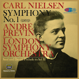 Nielsen Symphony No 1 - Saul And David Prelude To Act II - Previn - London Symphony Orchestra (Pure DSD)