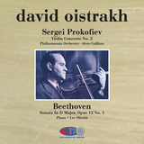 Prokofiev Violin Concerto No 2 - Beethoven Sonata In D Major, Opus 12 No. 1 - David Oistrakh